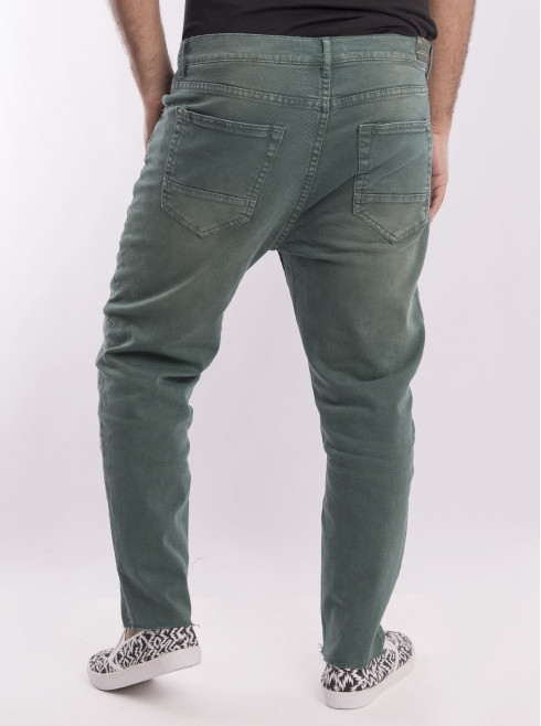 Colored Ankle Length Jeans