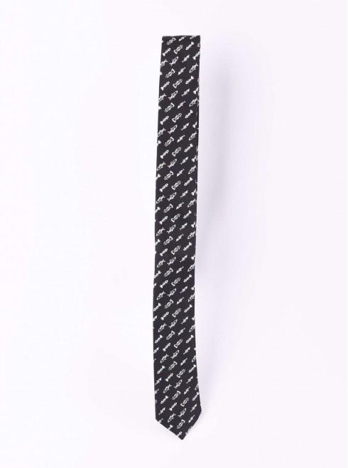 Fishbone designed tie
