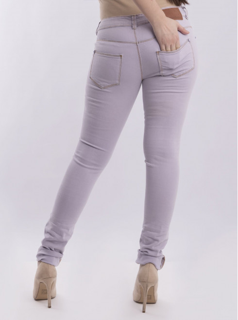 Super Skinny Fit-Jeans With Rips