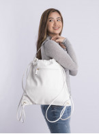 Draw string hand backpack