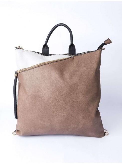 Bag with three way strap bag use