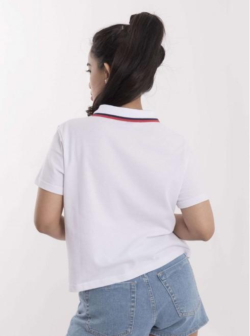 Short Wide Polo Shirt