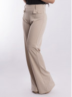 Womens Pleated Trousers