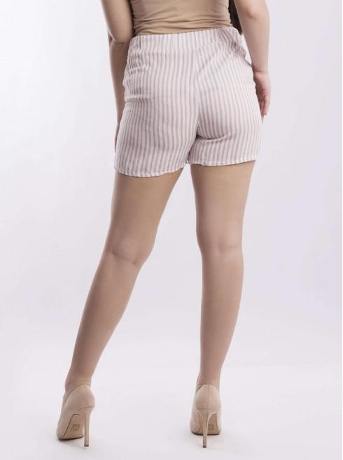 Soft stripe shorts