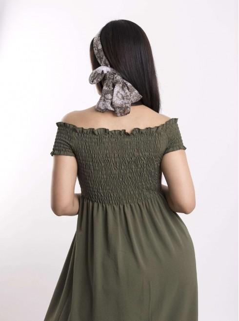 Boat Neckline Dress